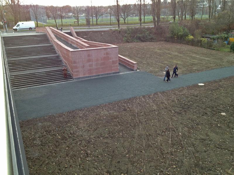 Verschwundene Kleingärten am südlichen Brückenkopf