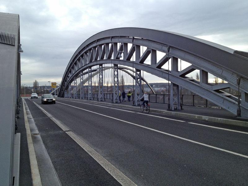 Die Honsellbrücke