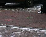 Markierungen am Boden