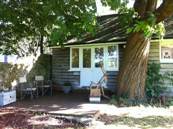Virginia Woolfs Gartenhäuschen diente als Arbeitszimmer