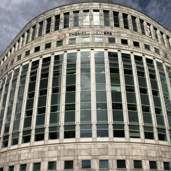 London, Canary Wharf, Thomson Reuters