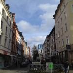 Höhenstraße: Hier beginnt nun wieder Bornheim