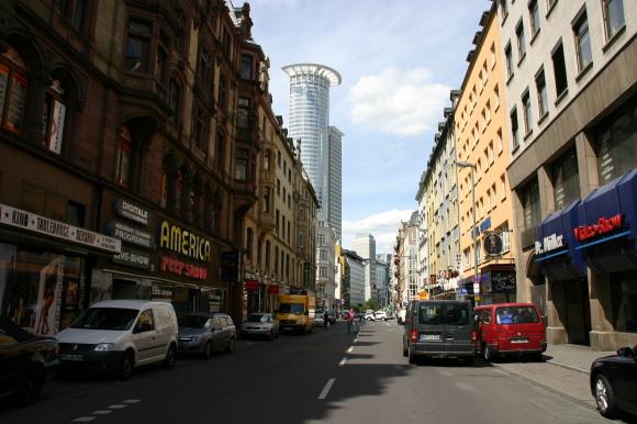 Kaiserstraße in Frankfurt