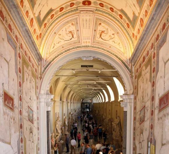 Im Vatikanischen Palast