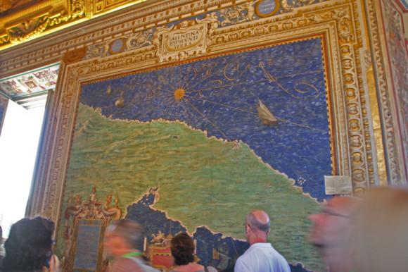 Die Galerie der Landkarten