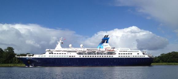 "Kreuzfahrtschiff ""Saga Pearl II"""
