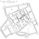 John Snows Karte der Cholera-Todesfälle von 1854. Lizenziert unter Public domain über Wikimedia Commons.