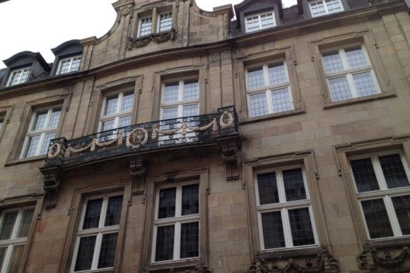 Heutiges Gebäude am früheren Standort des Verlags Aschendorff in der Salzstraße 57. Bild: Monika Gemmer