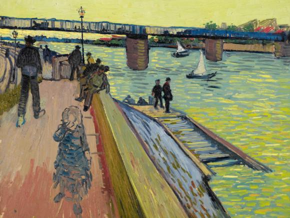 Van Gogh, Die Brücke von Trinquetaille (1888)