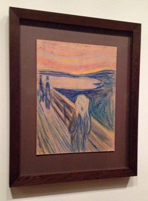 Munch: Der Schrei (Pastellkreideassung von 1893)