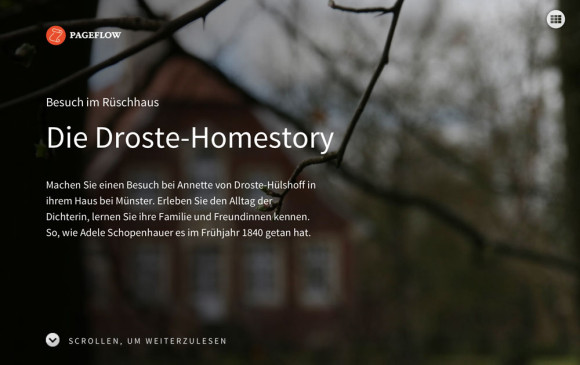 Eine Multimedia-Reportage aus dem Rüschhaus.