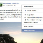 Facebook-Postings einbetten