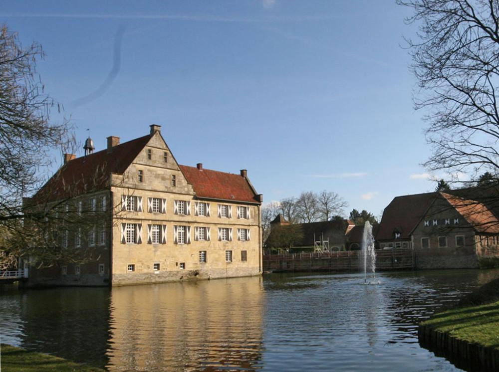 After-Burg Hülshoff damals und heute