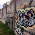 Mauerreste an an der Rudower Höhe
