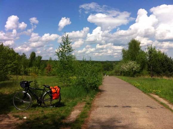 Im Naturpark Barnim zwischen Köppchensee und Blankenfelder Chaussee