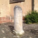 Römische Säule in Neumagen-Dhron.