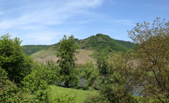 Im Naturschutzgebiet Pommerheld.