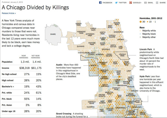 New York Times: Chicago divided by killings