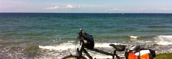 Auf dem Ostsee-Radweg