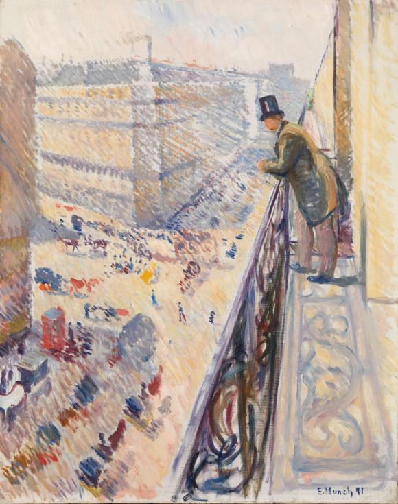 Munch: Rue Lafayette (1891)