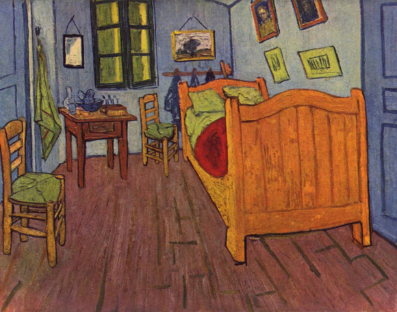 Vincents Schlafzimmer in Arles (1888), Van-Gogh-Museum Amsterdam
