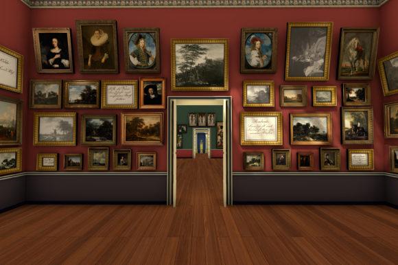 Die Hängung dicht an dicht entspricht der Präsentationsform des 19. Jahrhunderts. Bild: Städel Museum