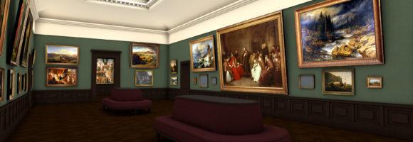 Das Städel Museum von 1878. Bild: Städel Museum