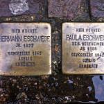 Stolpersteine für Hermann und Paula Eschwege