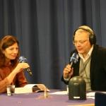 Ursula Krechel im Gläsernen Studio der ARD