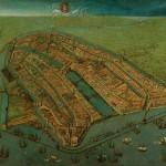 Amsterdam 1538, Quelle: Amsterdam Museum, CC BY-SA